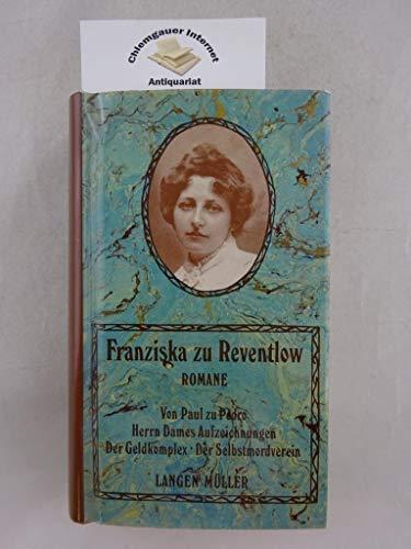 Romane: Reventlow, Franziska