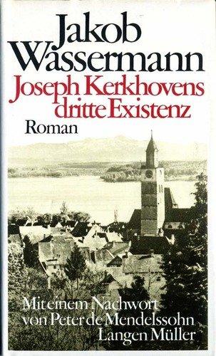 9783784419268: Joesph Kerkhovens dritte Existenz