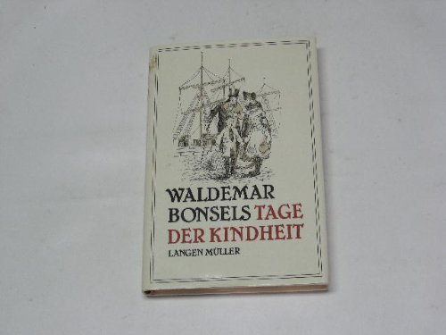 Tage der Kindheit: Waldemar Bonsels
