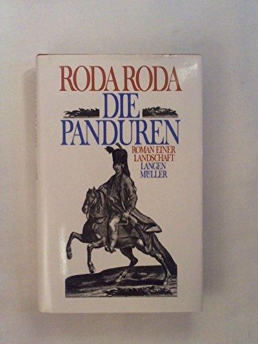 9783784422930: Die Panduren. Roman einer Landschaft.