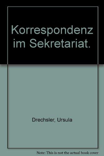 9783784471099: Korrespondenz im Sekretariat.