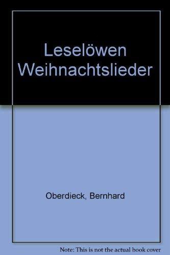 Leselöwen-Weihnachtslieder: Hans Baumann