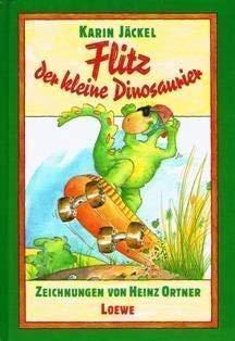 Flitz, der kleine Dinosaurier (German Edition): Jackel, Karin