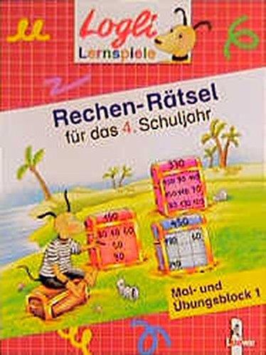 9783785537589: Rechen-R�tsel f�r das 4. Schuljahr: Mal- und �bungsblock