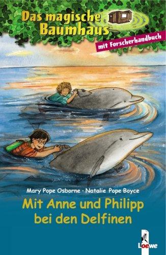 9783785545232: Das magische Baumhaus. Mit Anne und Philipp bei den Delfinen: Der Ruf der Delfine / Forscherhandbuch Delfine und Haie