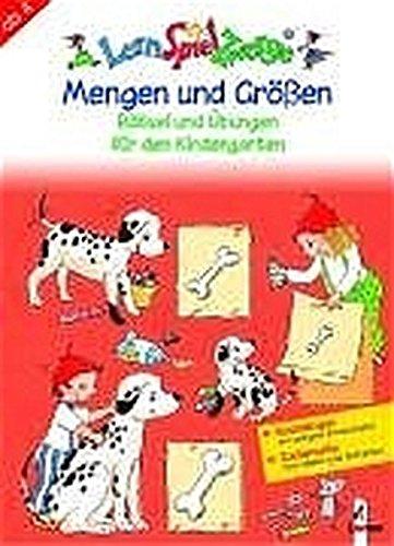 9783785548844: Mengen und Größen: Rätsel und Übungen für den Kindergarten. Mit Bastelbogen und Zauberseite zum Malen und Schreiben