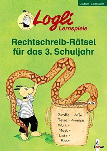 9783785550465: Rechtschreib-R�tsel f�r das 3. Schuljahr: Lernspiele