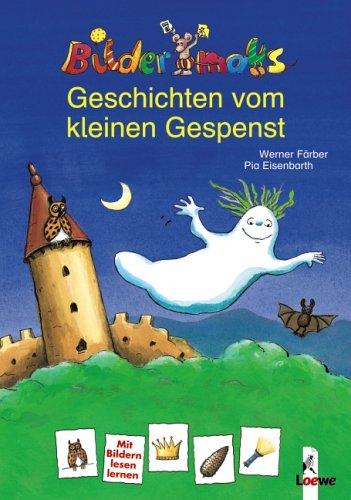 9783785553053: Bildermaus-Geschichten vom kleinen Gespenst / Bilderdrache - Das kleine Burggespenst in der Schule (Wendebuch)