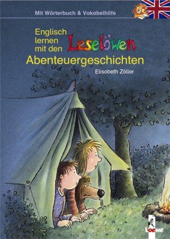 9783785553336: Englisch lernen mit den Leselöwen - Abenteuergeschichten
