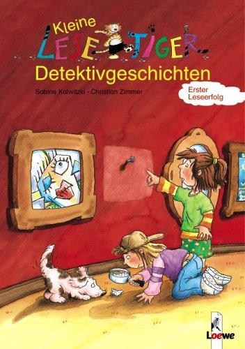 9783785554258: Kleine Lesetiger-Detektivgeschichten / Vier Spürnasen im Baumhaus. Wendebuch