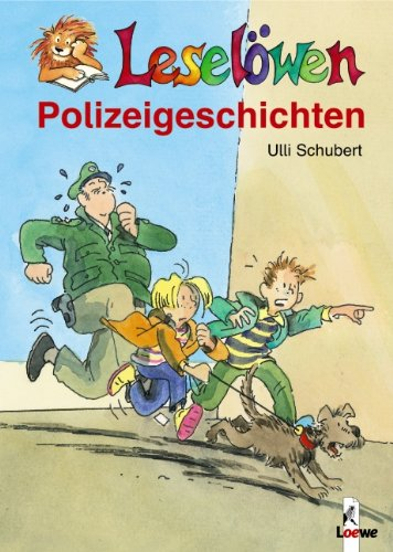 9783785556344: Leselöwen Polizeigeschichten