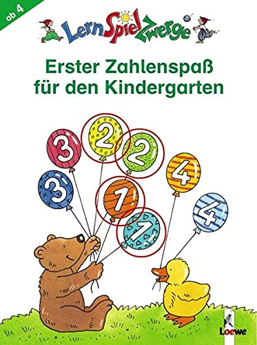 9783785556719: LernSpielZwerge - Erster Zahlenspaß für den Kindergarten: Mal- und Rätselspaß