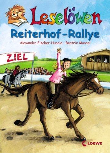 9783785560556: Leselöwen Reiterhof-Rallye