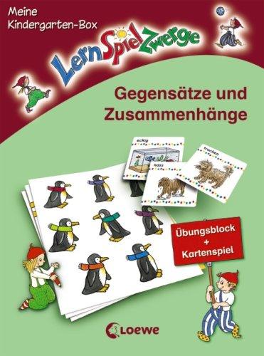 9783785561010: Gegensätze und Zusammenhänge: Meine LernSpielZwerge-Kindergarten-Box