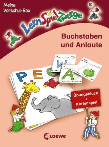 9783785561034: Buchstaben und Anlaute Meine LernSpielZwerge-Vorschul-Box , 48 Spielktn im Karton-Etui - 15,5x12, 0 cm