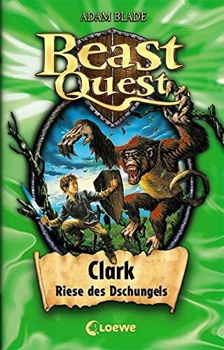9783785565735: Beast Quest 08. Clark, Riese des Dschungels