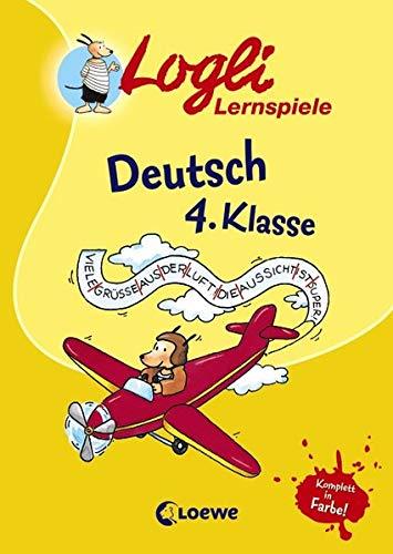 9783785566909: Logli Lernspiele: Deutsch 4 Klasse