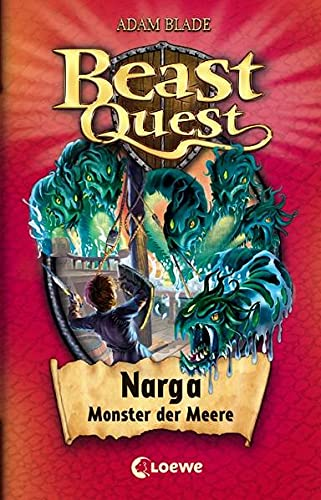 9783785571484: Beast Quest 15. Narga, Monster der Meere