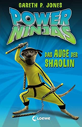 Power Ninjas 02. Das Auge der Shaolin: Jones, Gareth P.