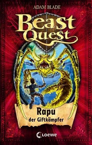 9783785576397: Beast Quest 25. Rapu, der Giftkämpfer