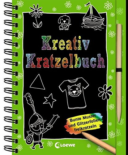9783785577912: Kreativ-Kratzelbuch