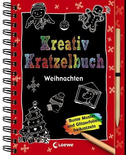 9783785577929: Kreativ-Kratzelbuch Weihnachten