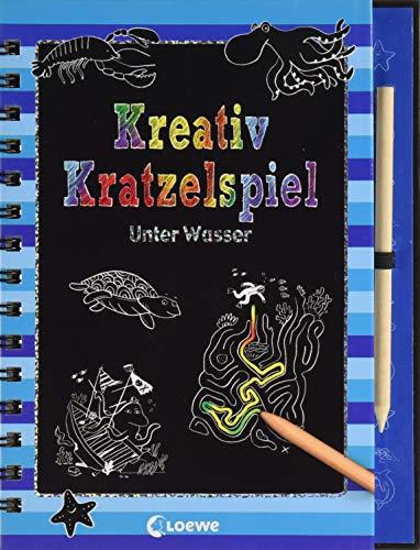 9783785581094: Kreativ-Kratzelspiel: Unter Wasser