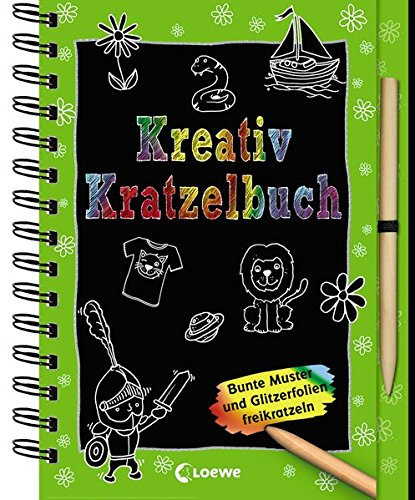9783785584125: Kreativ-Kratzelbuch