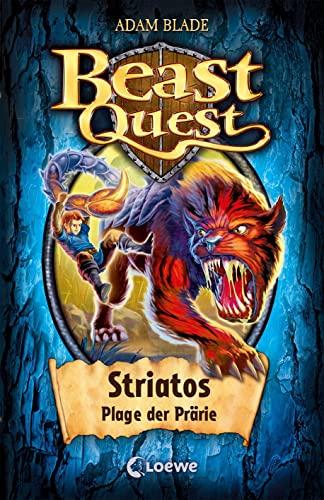 9783785584835: Beast Quest 44. Striatos, Plage der Prärie: Band 44