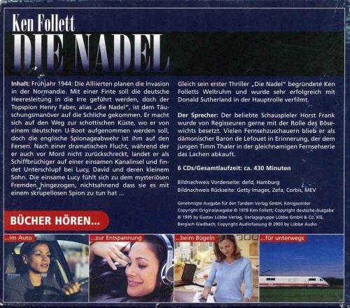 9783785713822: Die Nadel Hörbuch Audio CD