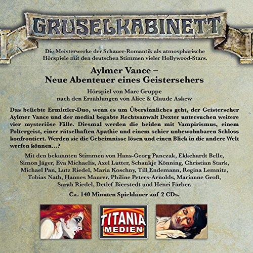 9783785745236: Aylmer Vance-Neue Abenteuer