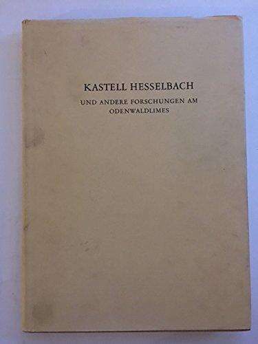 9783786110590: Kastell Hesselbach und andere Forschungen am Odenwaldlimes