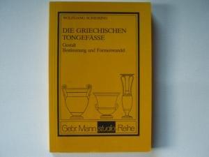 9783786113256: Die griechischen Tongefässe: Gestalt, Bestimmung und Formenwandel (Gebr. Mann Studio-Reihe) (German Edition)