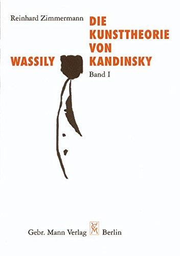 9783786119883: Die Kunsttheorie von Wassily Kandinsky
