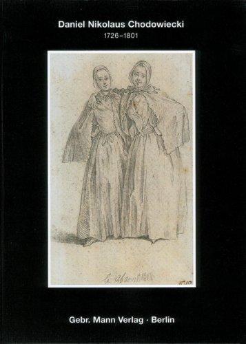 9783786123705: Zeichnungen von Daniel Nikolaus Chodowiecki (1726-1801) im Berliner Kupferstichkabinett 'Die Natur ist meine einzige Lehrerin, meine Wohltäterin'