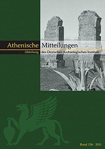 Mitteilungen des Deutschen Archäologischen Instituts, Athenische Abteilung: Katja Sporn