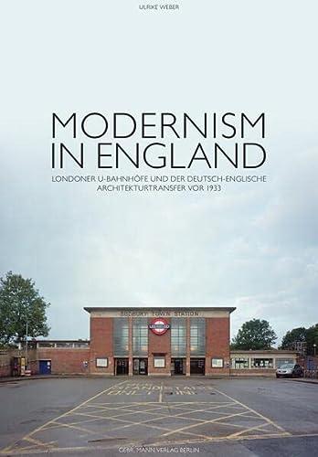Modernism in England: Ulrike Weber
