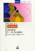 9783786310808: Deutsch. Gedichte. 11. - 13. Schuljahr.