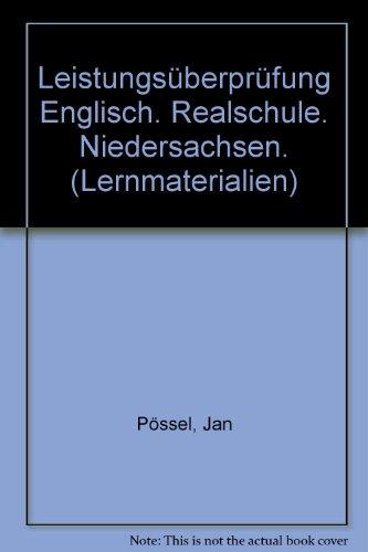 Leistungsüberprüfung Englisch Realschule Niedersachsen