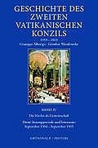 Geschichte des Zweiten Vatikanischen Konzils. Bd. IV: Die Kirche als Gemeinschaft. September 1964 -...