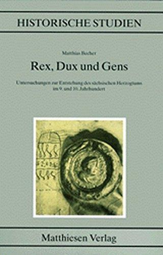 Rex, Dux und Gens: Matthias Becher