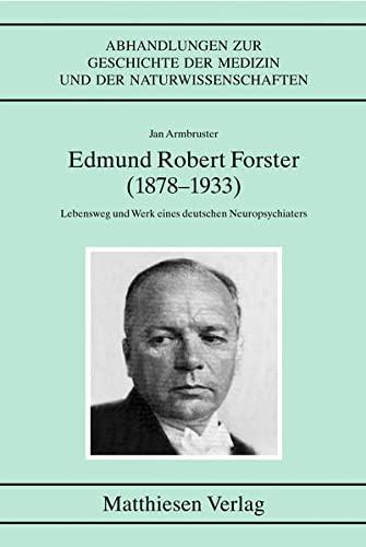 Edmund Robert Forster (1878-1933): Jan Armbruster