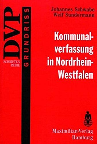 9783786903765: Kommunalverfassung in Nordrhein- Westfalen.