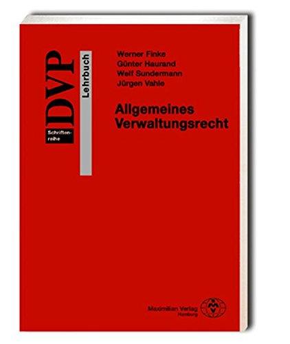 9783786906353: Allgemeines Verwaltungsrecht