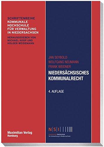9783786909682: Niedersächsisches Kommunalrecht