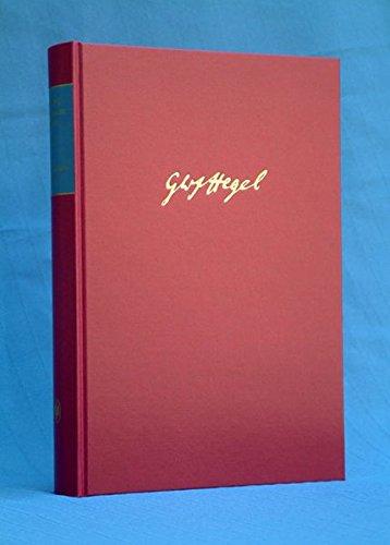 JENAER SYSTEMENTWÜRFE II (Gesammelte Werke Band 7): Hegel, Georg Friedrich Wilhelm
