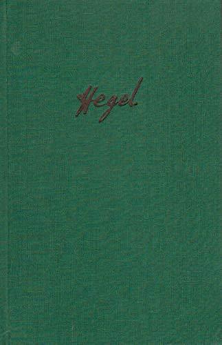 Briefe von und an Hegel. 01. 1785 - 1812: Georg Wilhelm Friedrich Hegel