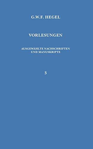 9783787305834: Vorlesungen über die Philosophie der Religion
