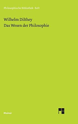 9783787306190: Das Wesen der Philosophie