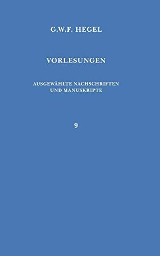 Vorlesungen über die Philosophie der Religion (Vorlesungen / Georg Wilhelm Friedrich Hegel) (German Edition) (9783787306398) by Georg W. F. Hegel